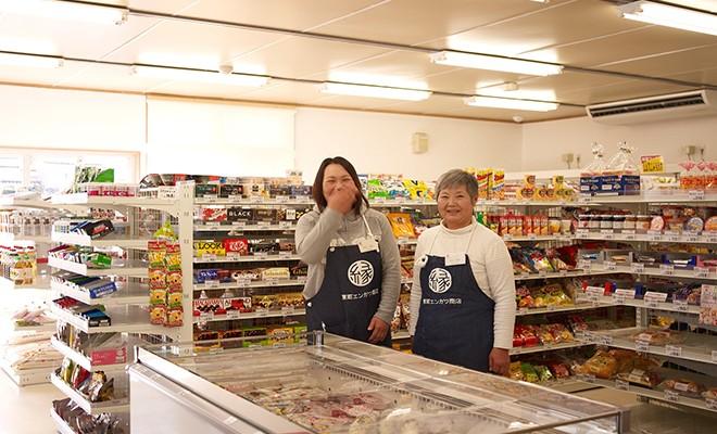 仮設スーパー「東町エンガワ商店」※提供 Yahoo! JAPAN